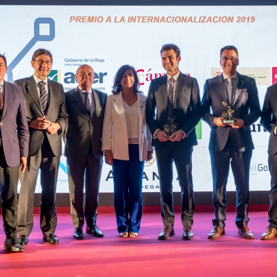 RAFAEL GONZALEZ BUSINESS GROUP, LA RIOJA CHAMBER OF COMMERCE INTERNATIONALIZATION AWARD 2019